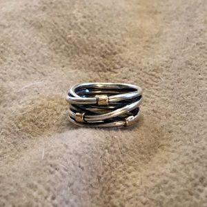 Pandora rope ring